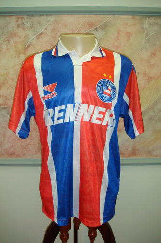 camisa futebol bahia salvador ba penalty jogo antiga 111