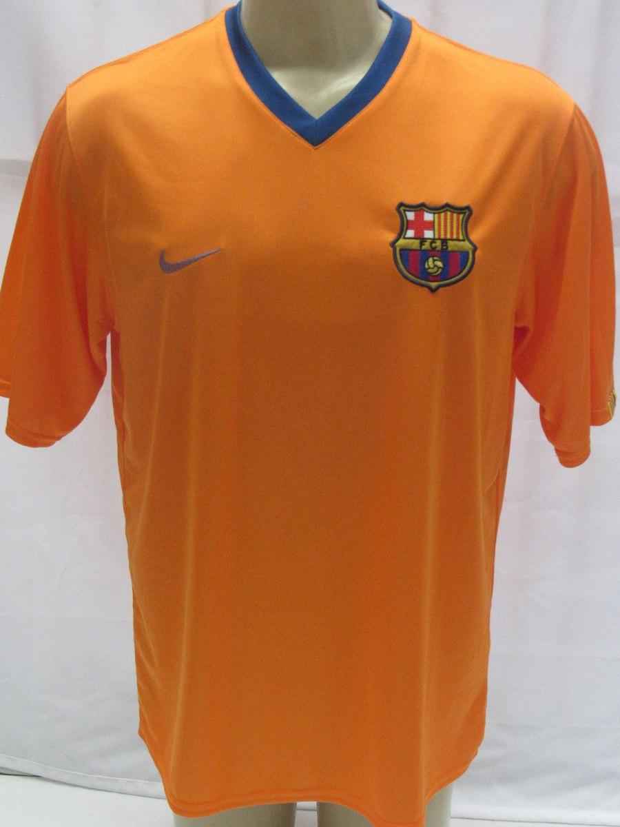 108f73516 camisa futebol barcelona espanha  10 ronaldinho laranja enco. Carregando  zoom.