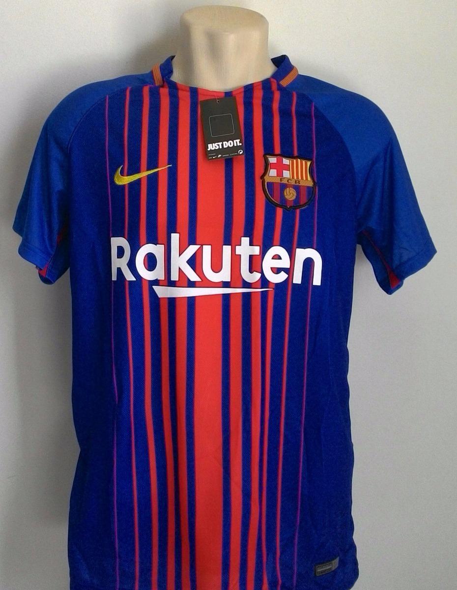 3f3468b2b905a camisa futebol barcelona home 2017 18 - messi 10. Carregando zoom.