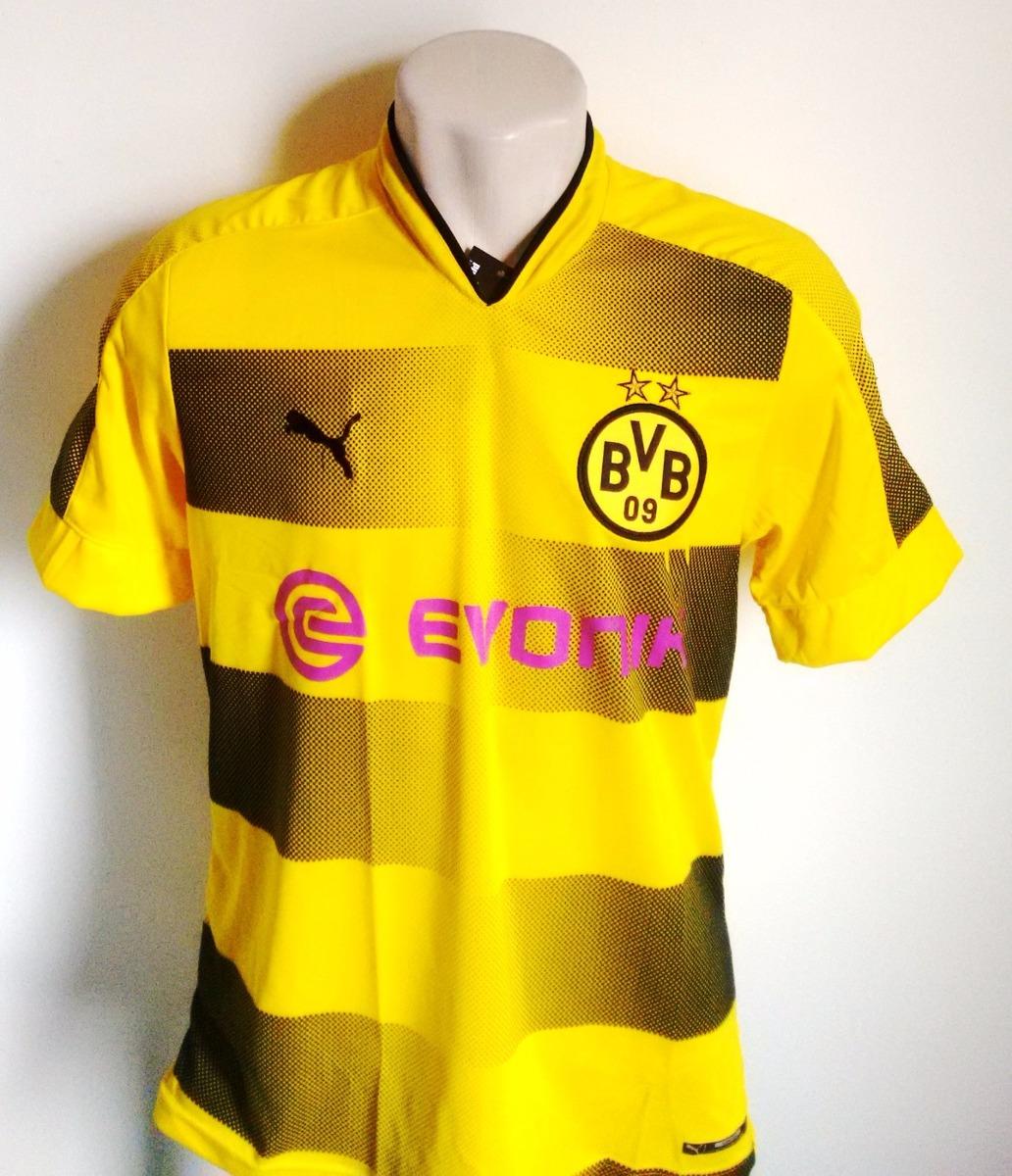 camisa futebol borussia dortmund home 2017 18 - reus 11. Carregando zoom. 73c86de436982