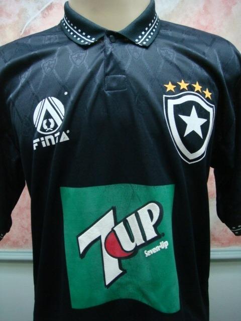512a6466a7533 Camisa Futebol Botafogo Rio Janeiro Rj Finta Antiga 1608 - R  599