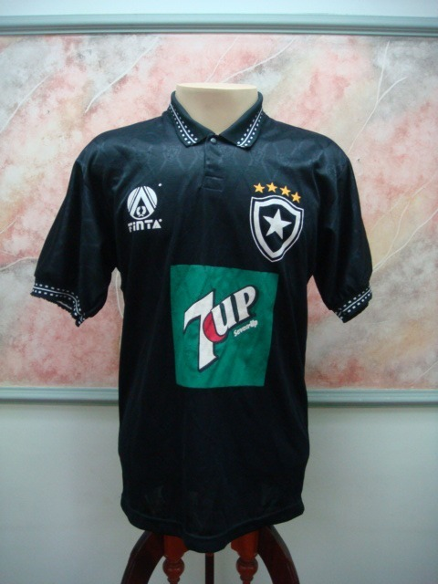 e73128bd64838 Camisa Futebol Botafogo Rj Finta Jogo Antiga 1904 - R  990
