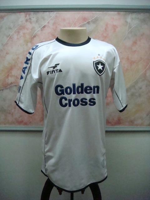 239f7724cdbaf Camisa Futebol Botafogo Rj Finta Jogo Antiga 2216 - R  599