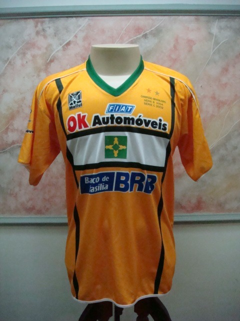de817bc9d1db0 Camisa Futebol Brasiliense Taguatinga Df Mallui Jogo 2552 - R  599 ...