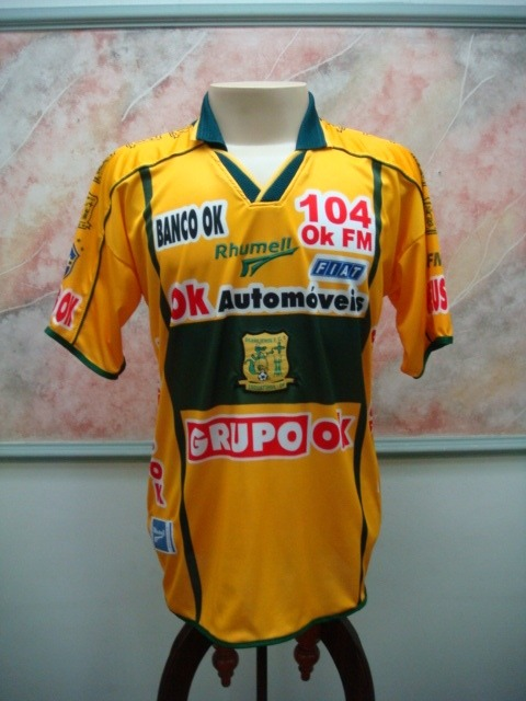 9daa00bb780fe Camisa Futebol Brasiliense Taguatinga Df Rhumell Jogo 1619 - R  499 ...