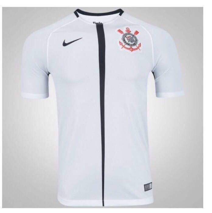 e52f7ceb2c700 Camisa De Futebol Corinthians Branca Original 2017 2018 - R  120
