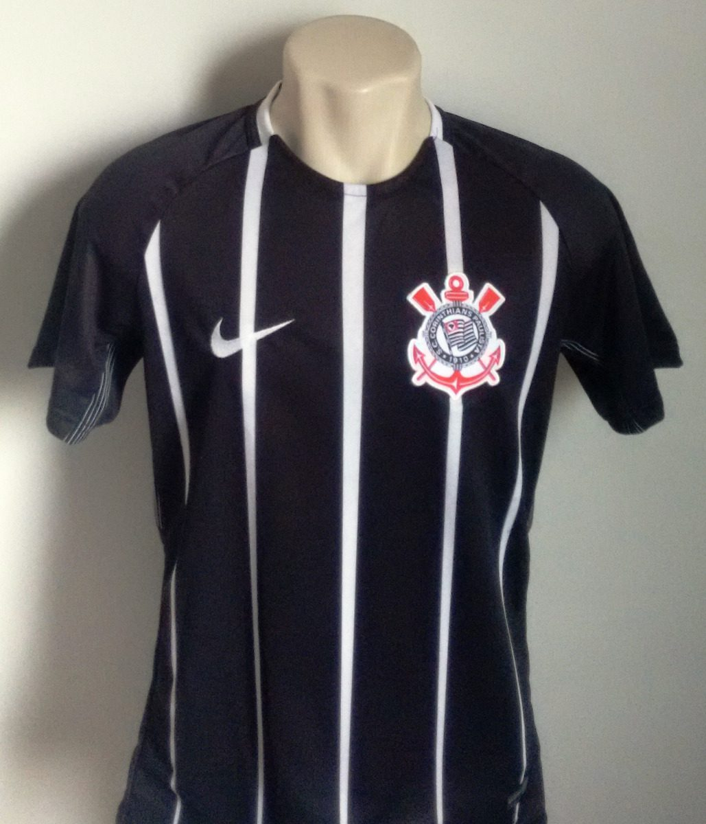 03b6c10761d04 Camisa Futebol Corinthians Away 2017 18 - Número 7 - R  60