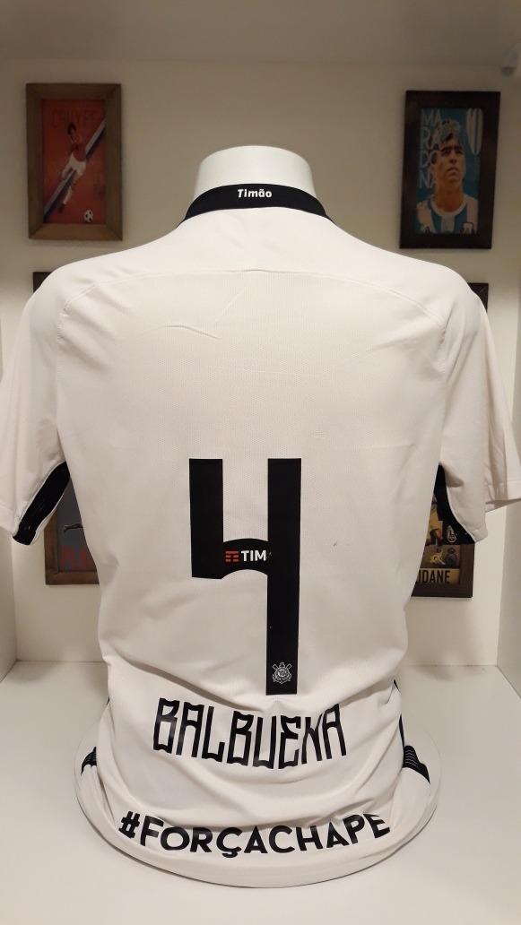camisa futebol corinthians homenagem chapecoense de jogo. Carregando zoom. 9a828576449b3