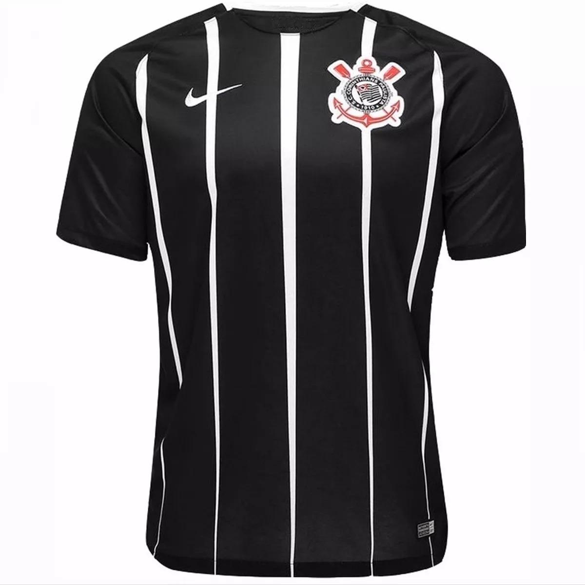 8cd2f677b721b Camisa Camiseta Futebol Corinthians Masculina Timão 2018 - R  54