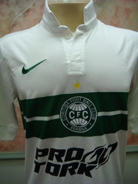 Camisa Futebol Coritiba Curitiba Pr Nike Jogo 1592 - R  549 7900715d998ec