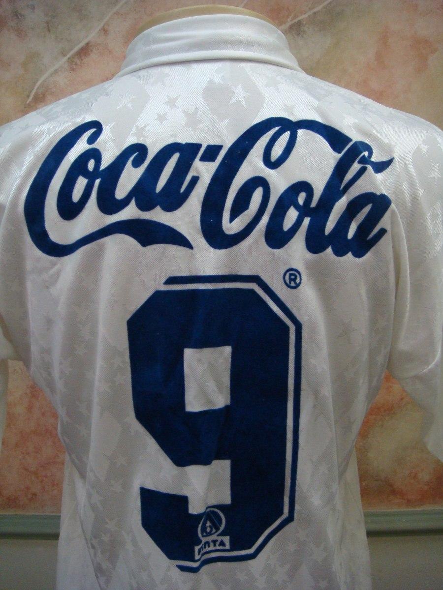 camisa futebol cruzeiro bh finta antiga 313. Carregando zoom. 5656b58686db6