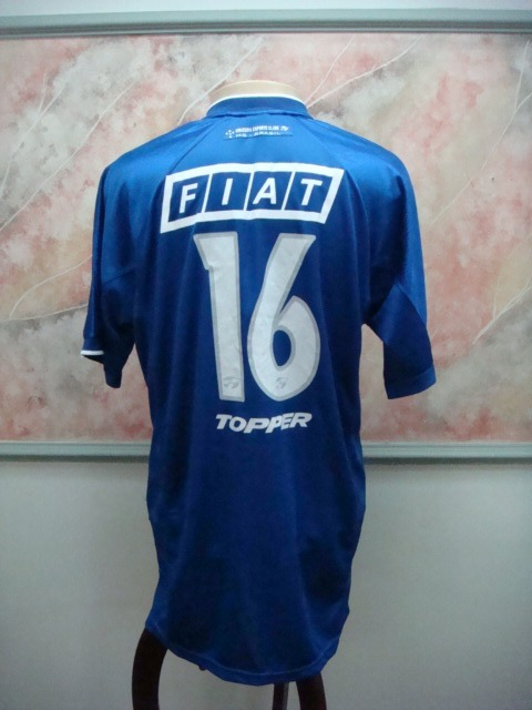 1d0f717b9d Camisa Futebol Cruzeiro Mg Topper Novo Palio Jogo 2176 - R  749