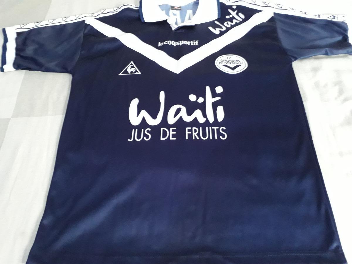 bec6b11b0c Camisa Futebol Do Bordeaux - Le Coq Sportif. - R$ 250,00 em Mercado ...