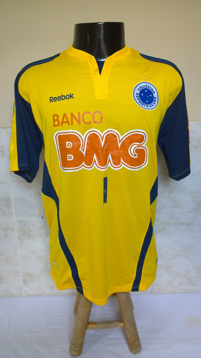 Camisa Futebol Do Cruzeiro - Reebok - R  370 597acf0662a99