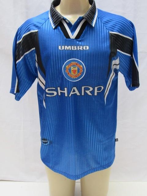 018274124da Camisa Futebol Do Manchester United 1996-97 Umbro Sharp Sc16 - R ...