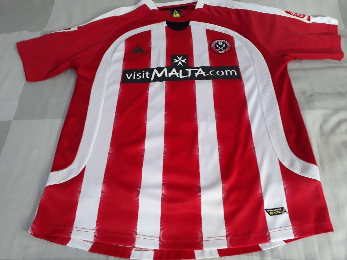 e61e336f34 Camisa Futebol Do Sheffield United - Le Coq Sportif. - R$ 350,00 em ...