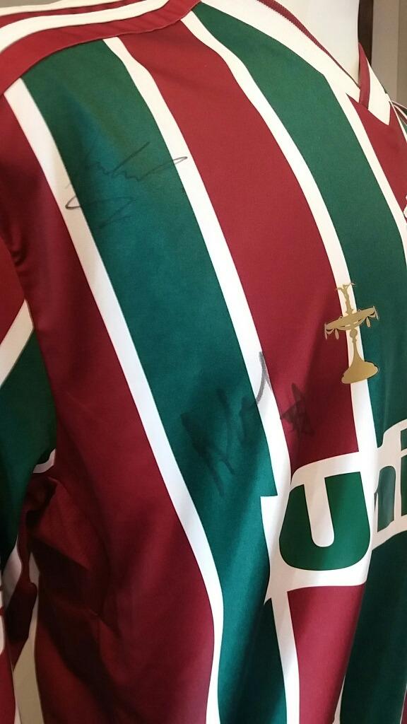 d7adee615c Camisa Futebol Fluminense adidas Autografada - R  189