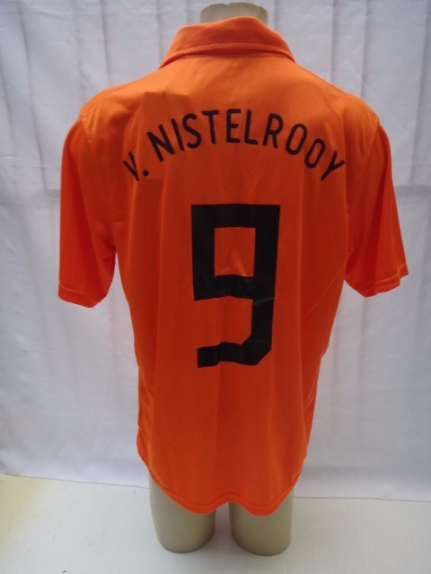 Camisa De Futebol Da Holanda   9 Van Nilsterooy Nike 2006 08 - R ... 6da5fc93e9541