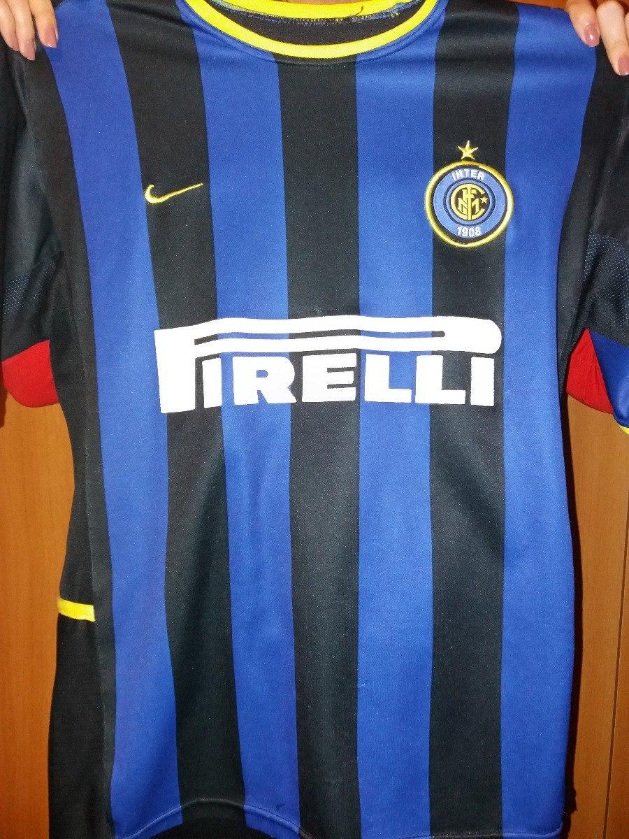 d65f124d01 Camisa Futebol Internazionale Inter De Milão 2002 2003 M - R  40