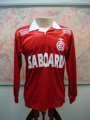 camisa futebol internacional lages sc doudleg antiga 1397
