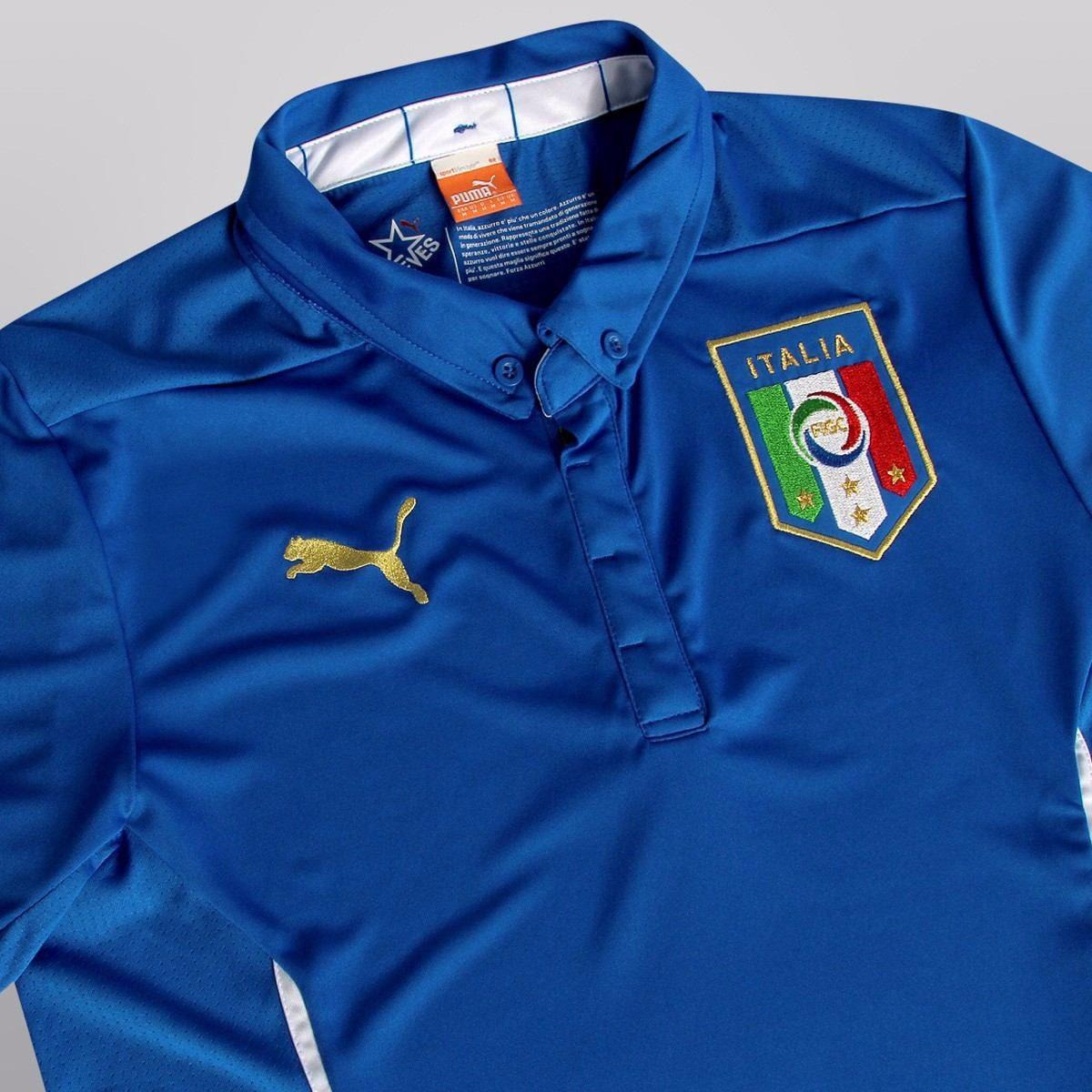 d4ccab6d240fa Camisa Futebol Itália 2014. Frete Gratis!! Pronta Entrega - R  125 ...