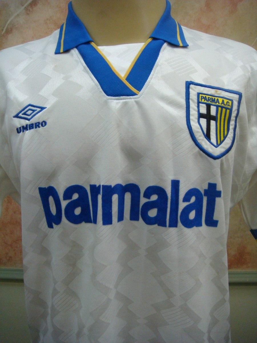 cba9900414 Camisa Futebol Parma Italia Umbro Antiga 719 - R  429