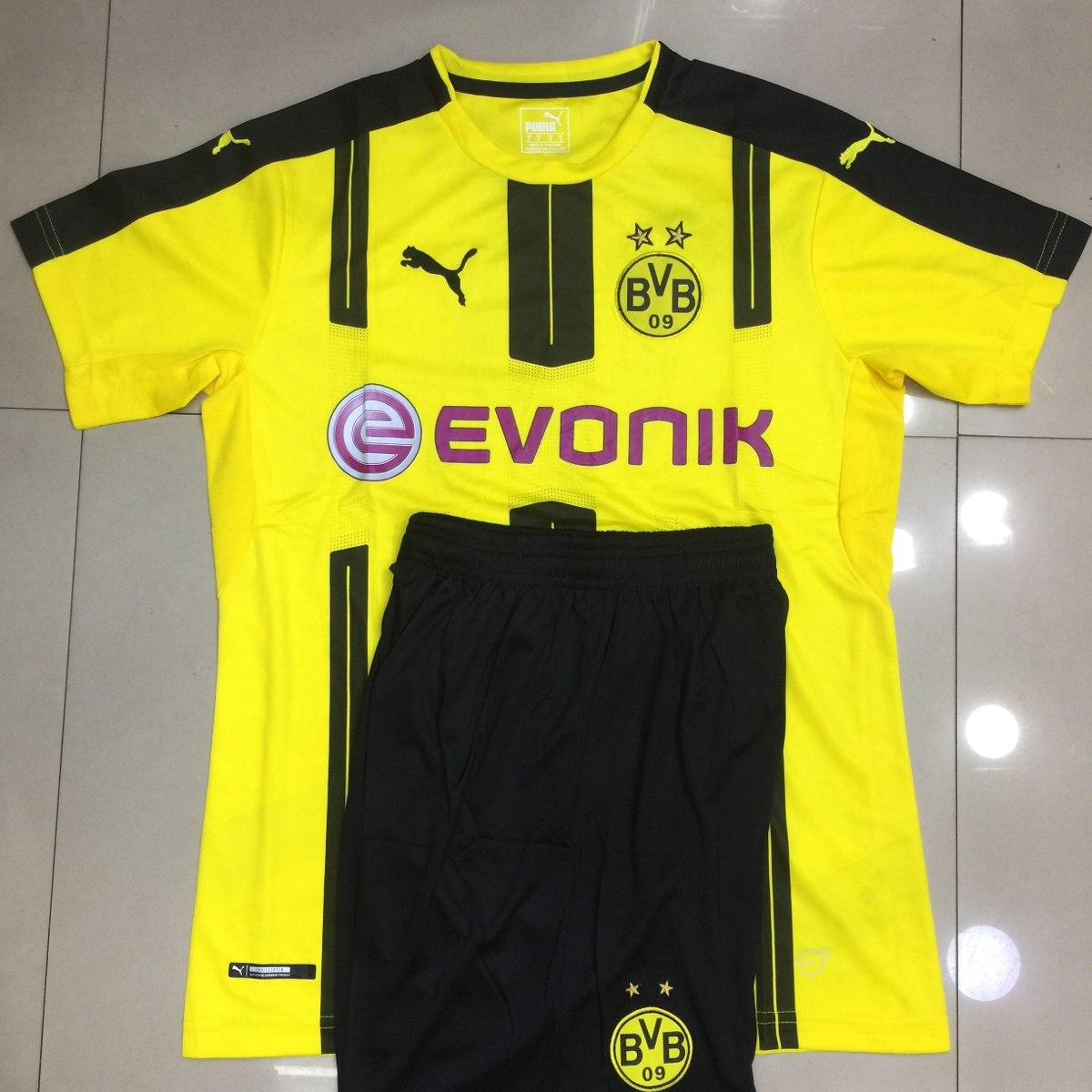 ca5450cc06 Camisa Futebol Kits Bvb Home. 17 - R  89