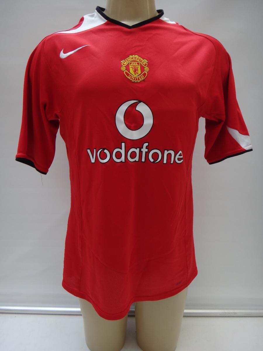 c5d84680221 camisa futebol manchester united 2004 2006 nike vodafone bj. Carregando  zoom.