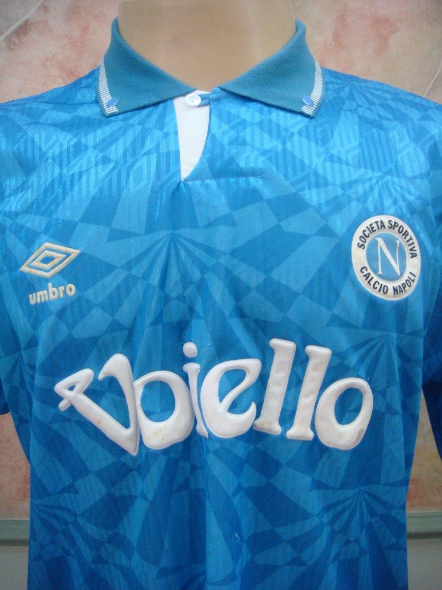 camisa futebol napoli napoles italia umbro antiga 641. Carregando zoom. 406075e6fe94b
