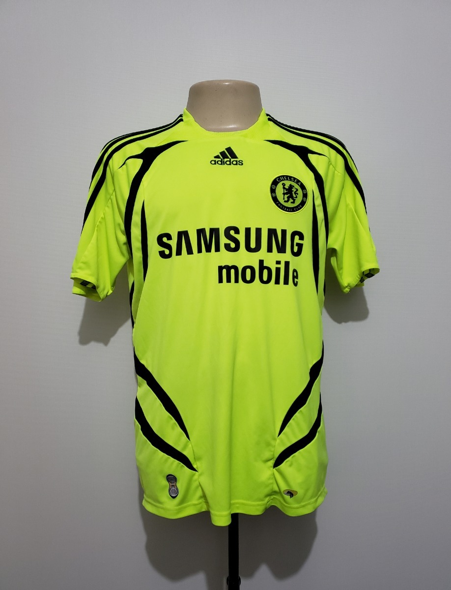 f96dfe16aae39 camisa futebol oficial chelsea inglaterra 2007 away adidas. Carregando zoom.