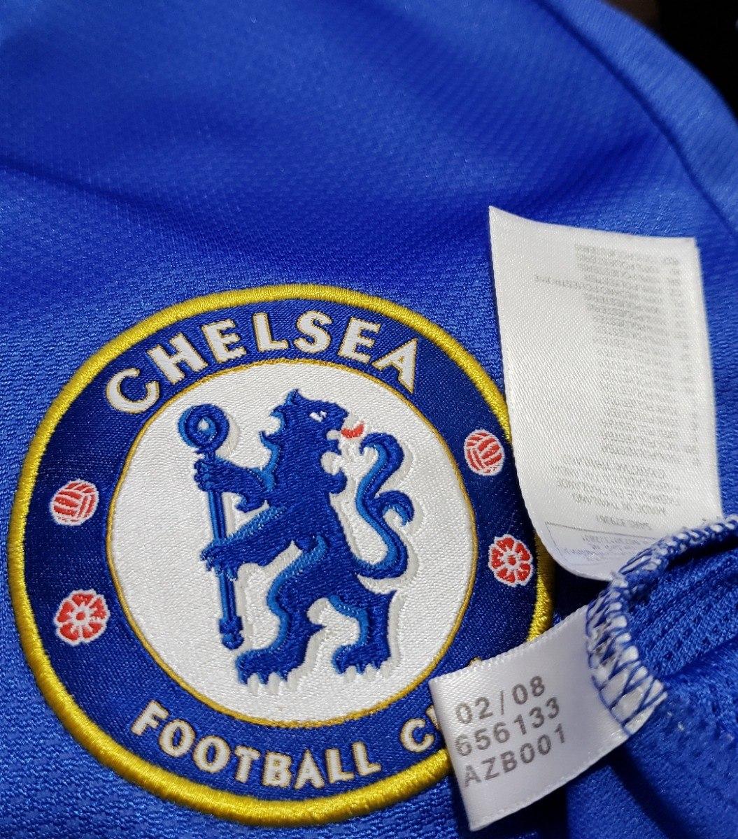 ad8eed1102f98 camisa futebol oficial chelsea inglaterra 2008 home adidas p. Carregando  zoom.