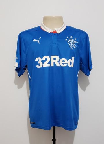 camisa futebol oficial rangers escócia 2014 home puma gg xl
