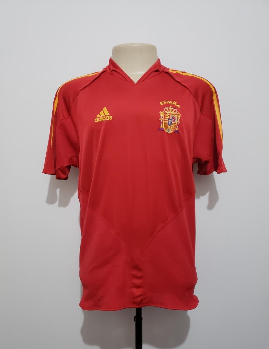 090fe7d9ae camisa futebol oficial seleção espanha 2004 home adidas m. Carregando zoom.