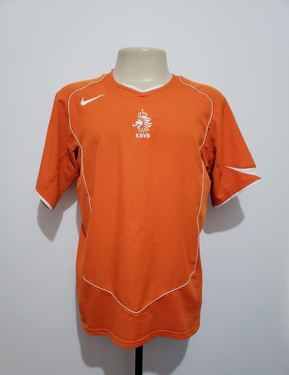 0878573952 camisa futebol oficial seleção holanda 2004 home nike tam m. Carregando zoom .