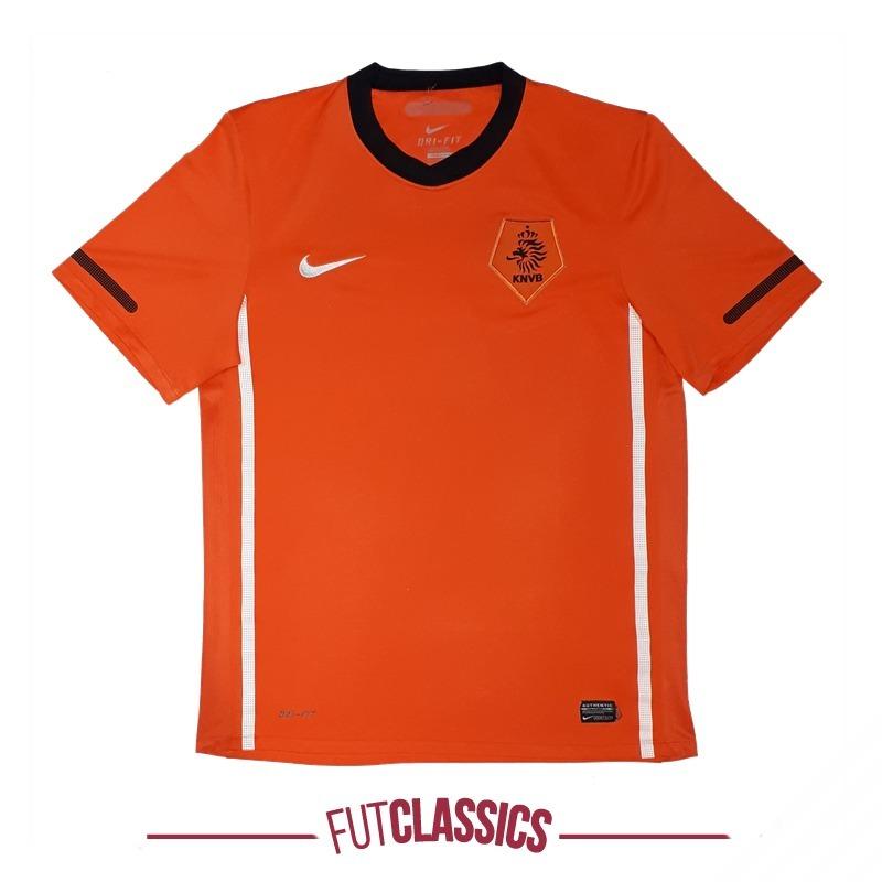 5b36e50a12 camisa futebol oficial seleção holanda 2010 home nike tam m. Carregando zoom .