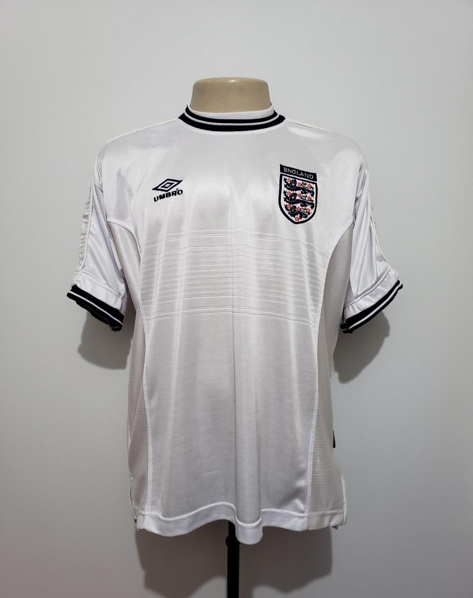 6ae2c832e2 camisa futebol oficial seleção inglaterra 1999 home umbro g. Carregando zoom .