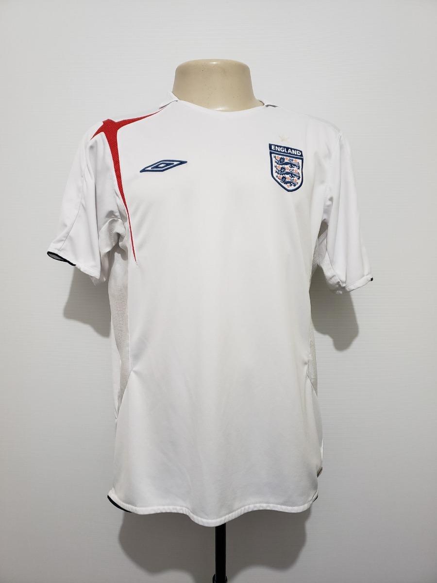 efc57ef050 camisa futebol oficial seleção inglaterra 2005 home umbro m. Carregando zoom .