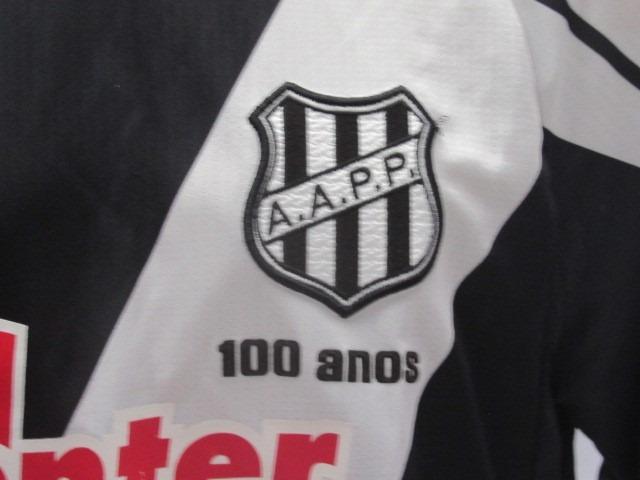 Camisa De Futebol Da Ponte Preta De Jogo  11 100 Anos - R  189 fa3c1a9012edf