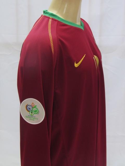 a8e9eb057299e camisa futebol portugal  17 c. ronaldo copa 06 manga longa · camisa futebol  portugal
