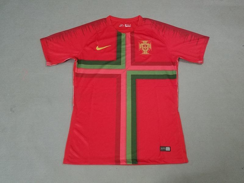 camisa futebol portugal treino 2018 19 - modelo torcedor. Carregando zoom. 195f2c3ccba84