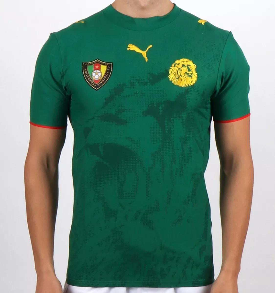 75a33e72c7add camisa futebol puma seleção camarões 07 08 - original. Carregando zoom.