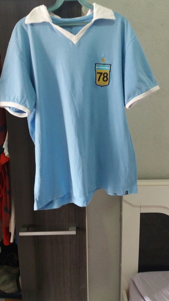 5a937ad9ea camisa futebol retrô seleção argentina. Carregando zoom.