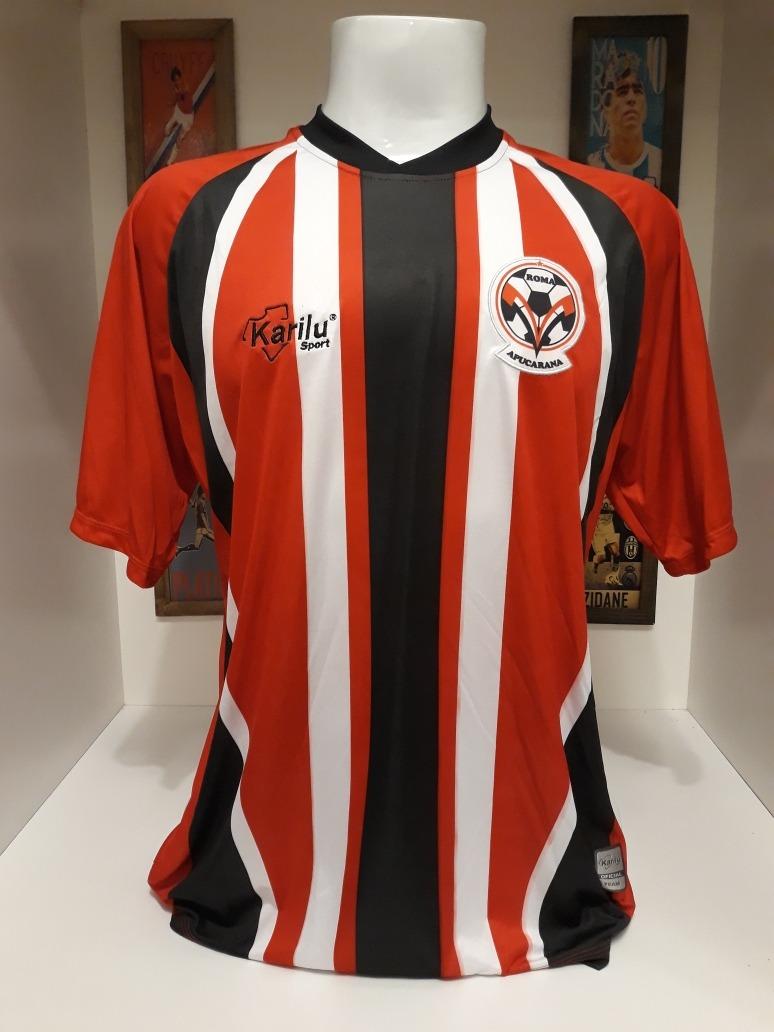 camisa futebol roma apucarana parana. Carregando zoom. 3eaa67e7d677d