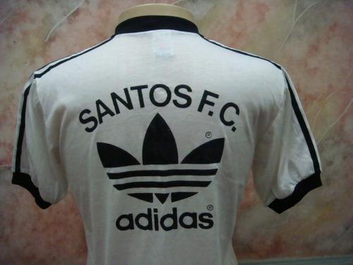 camisa futebol santos f.c. concentração adidas antiga s-05