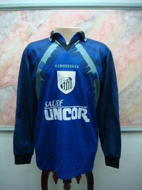212605c883 Camisa Futebol Santos Sp Goleiro Edinho Jogo Raridade 1743 - R ...