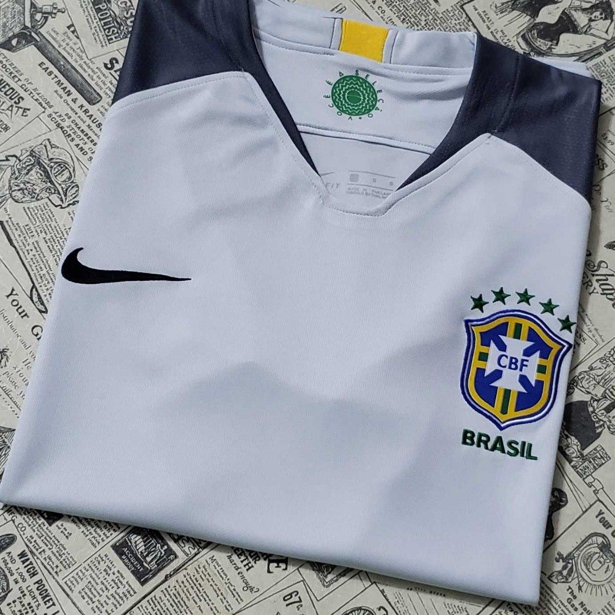 d5862dc6c5 camisa blusa goleiro futebol seleção brasil 2018 adulto. Carregando zoom...  camisa futebol seleção. Carregando zoom.