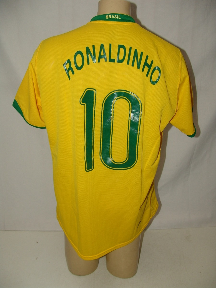 1008979edb camisa futebol seleção brasileira 2006   10 ronaldinho nike. Carregando zoom...  camisa futebol seleção. Carregando zoom.