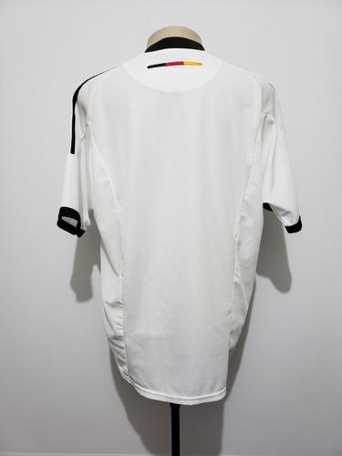 d046bf2ae0 Camisa Futebol Oficial Seleção Alemanha 2002 Home adidas G - R  139 ...