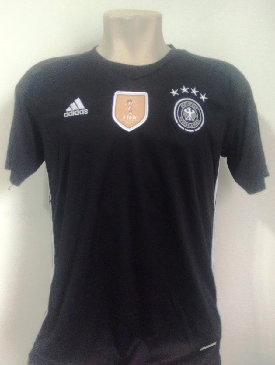 e613406140 camisa futebol seleção alemanha goleiro preta 2016 17. Carregando zoom.
