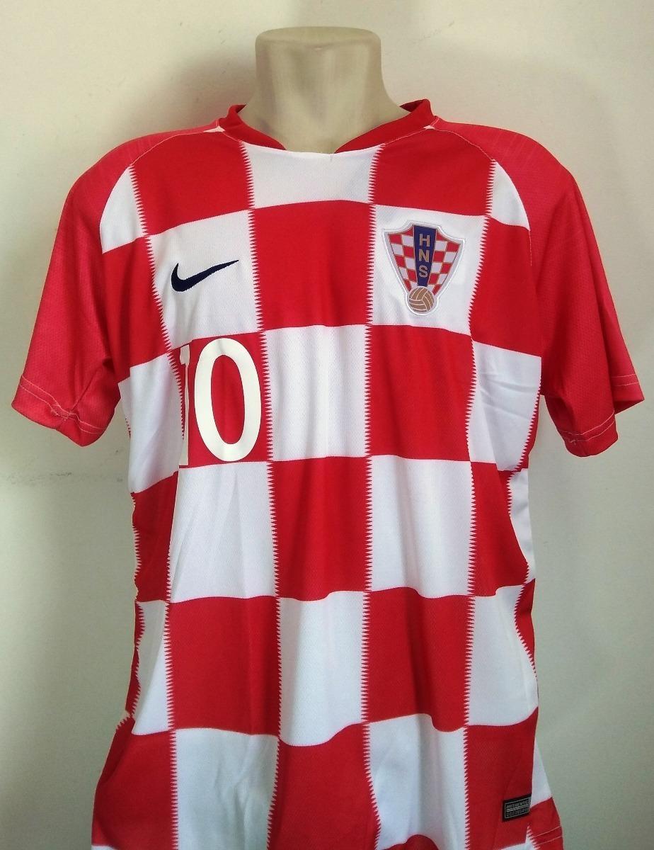 69a70dd4ef238 Camisa Futebol Seleção Croácia Home 2018 19 - Modric 10 - R  60